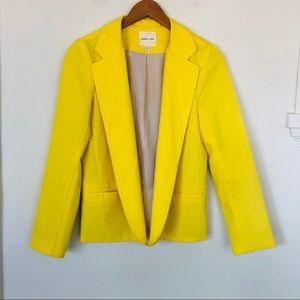 Silence & Noise Bright Yellow Blazer Jacket